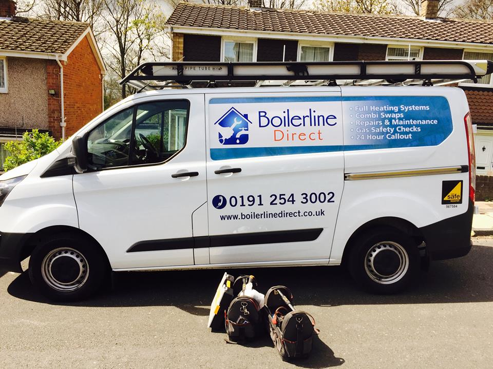 Boilerlines North East repair service van