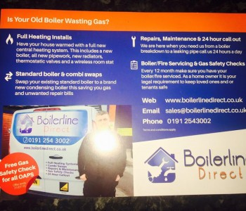 Boilerline's North East boiler services
